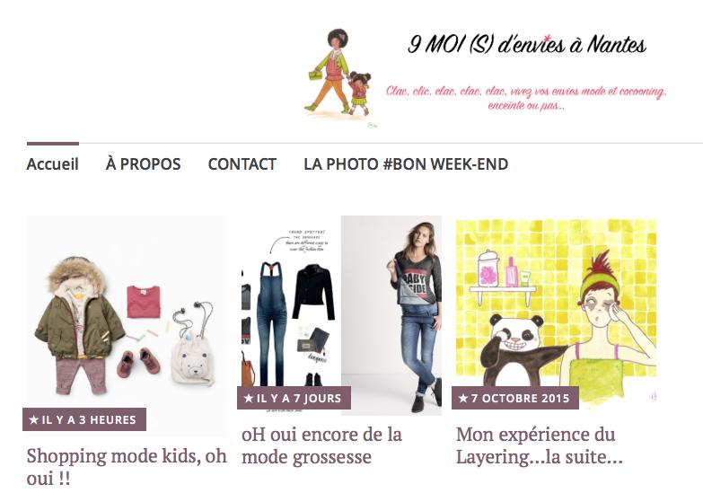 Blog 9 MOI(S) d'envies à Nantes - mode grossesse - mode femme - collaboration Myo-Jewel bijoux fins laiton et argent Nantes